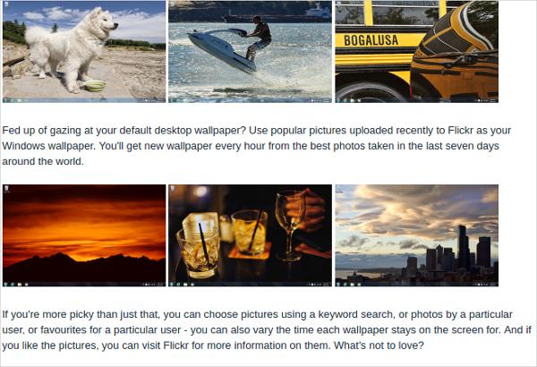 how to make windows slideshow background go every 5 seconds