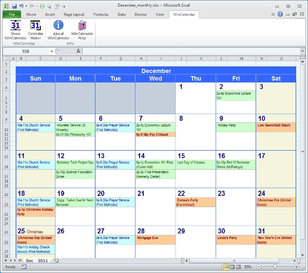 9+ Best Calendar Creating Software Free Download For