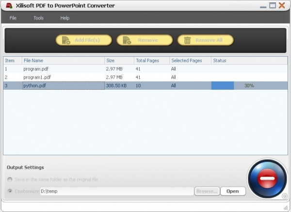 xilisoft pdf to powerpoint converter1