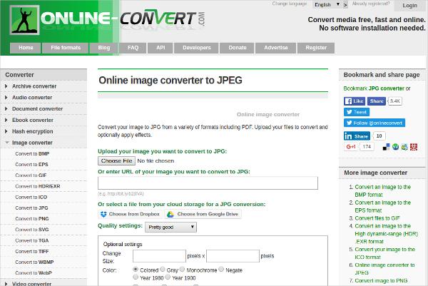 online convert2