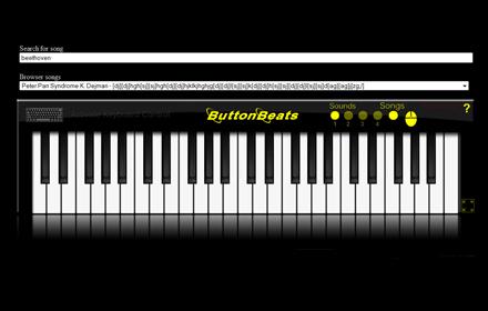 buttonbeats virtual piano black