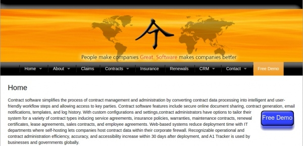 contract software