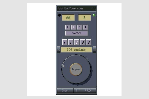 fast soft metronome
