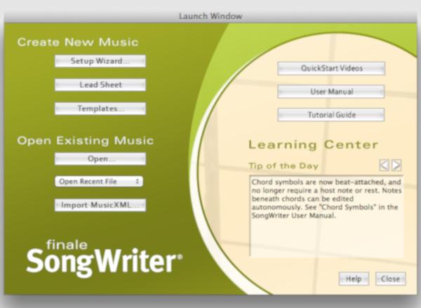 finalesongwriter