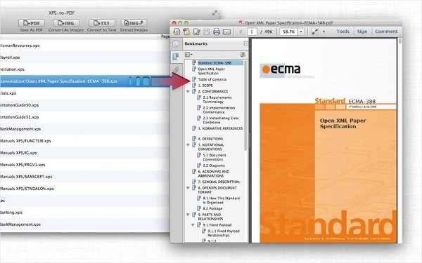 free mac xps editor software