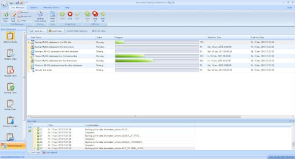 free mysql backup software