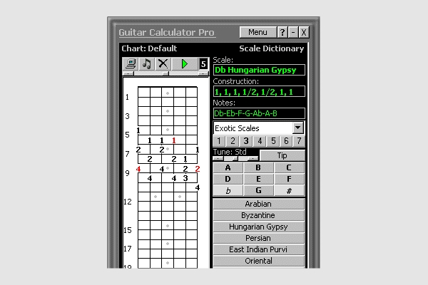 guitar calculator