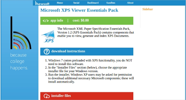 hewsoft xps viewer