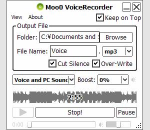 mooo voice recorder
