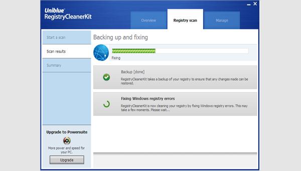 registry cleaner kit