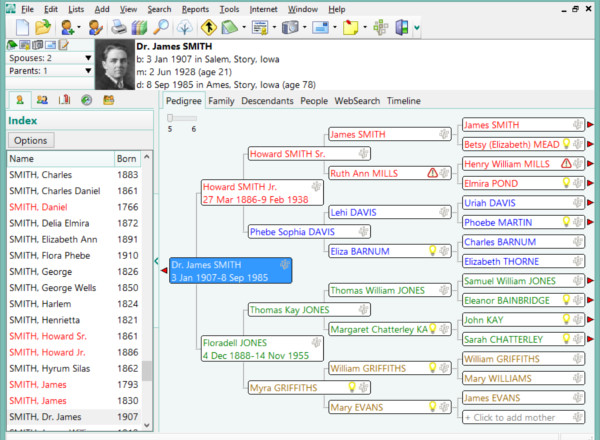 6  best family tree maker software free download for