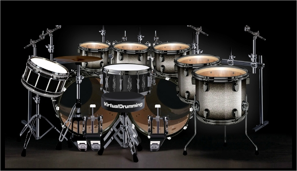 virtual drumming %e2%80%93joey jordison drum set