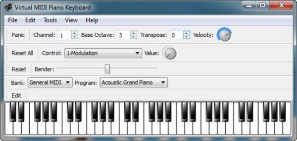 virtual midi piano