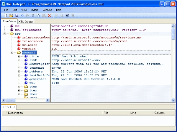 12 best xml editor software free download for windows mac linux xml notepad 2007 malvernweather Image collections