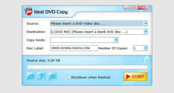 ideal dvd copy