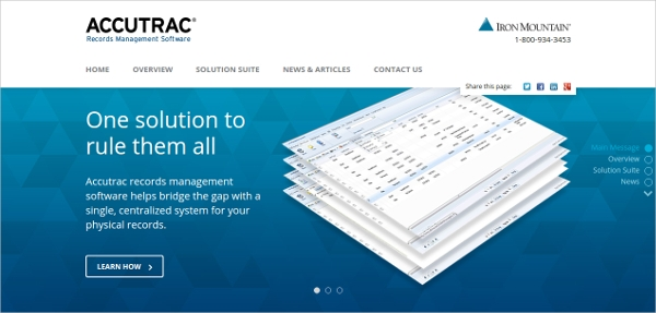 accutrac records management software