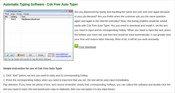 Auto typer for image to typing free download