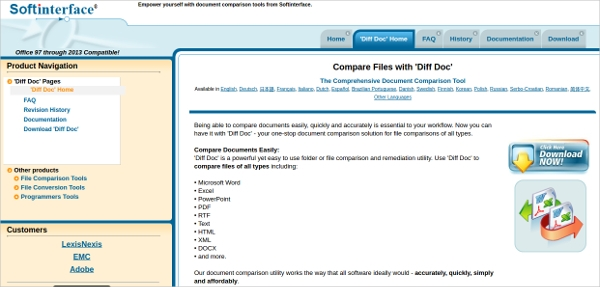document comparison software free download