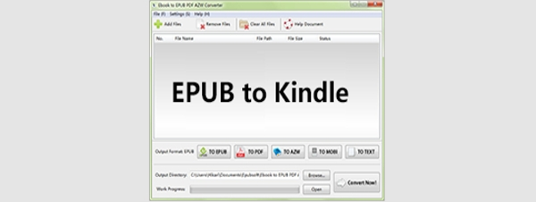 epub to kindle converter