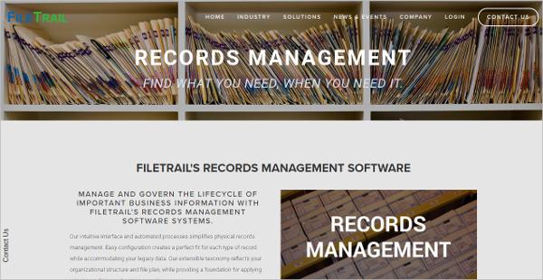 filetrails records management