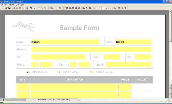 formmaxfilling