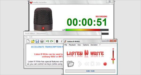 listen to n write free