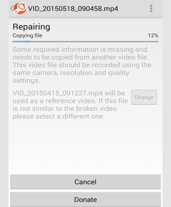 mp4fix video repair tool