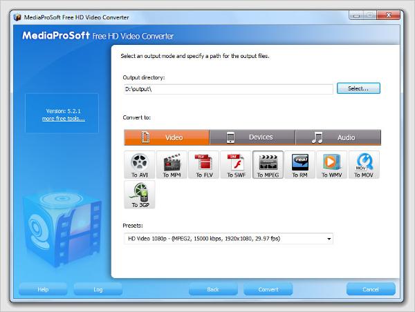 mediaprosoft free hd video converter