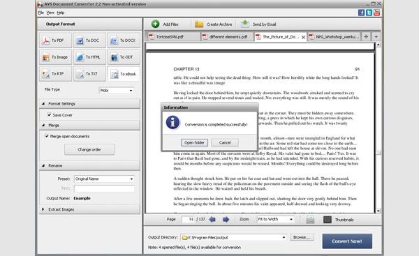 pdf to mobi converter