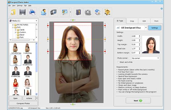 passport photo software
