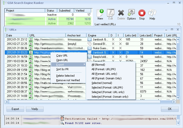 search engine ranker