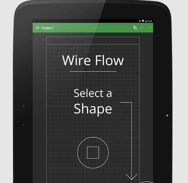 wire flow wireframe design