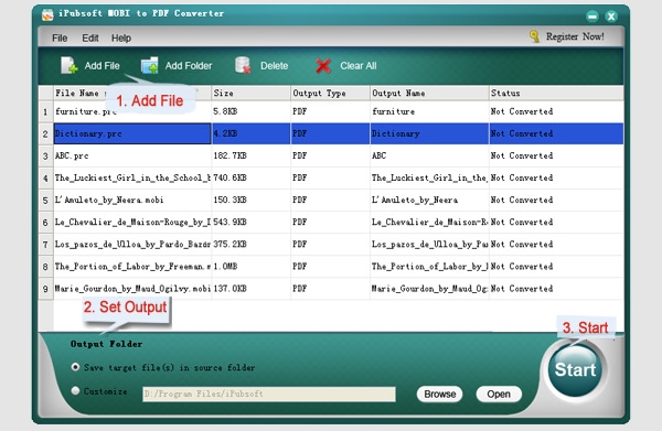 ipubsoft pdf to mobi converter