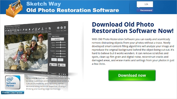 old photo restoration software