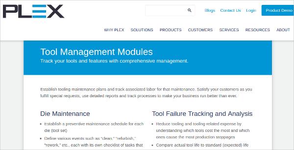 plex tool management