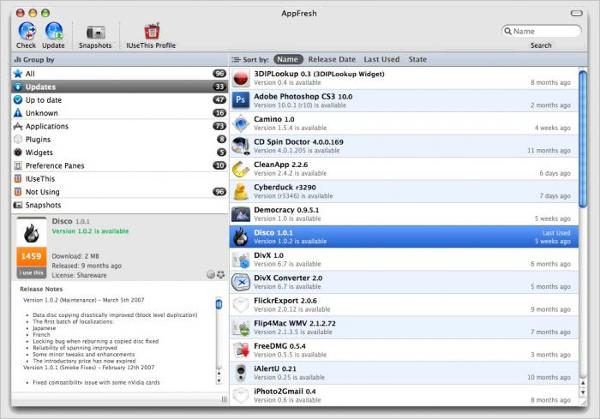 appfresh for mac