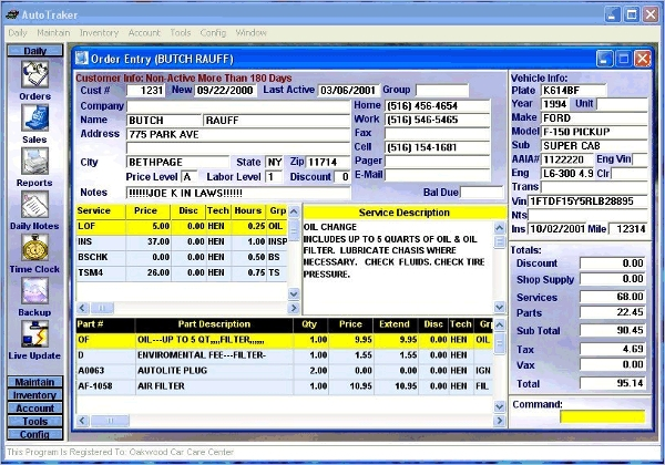 auto repair software download