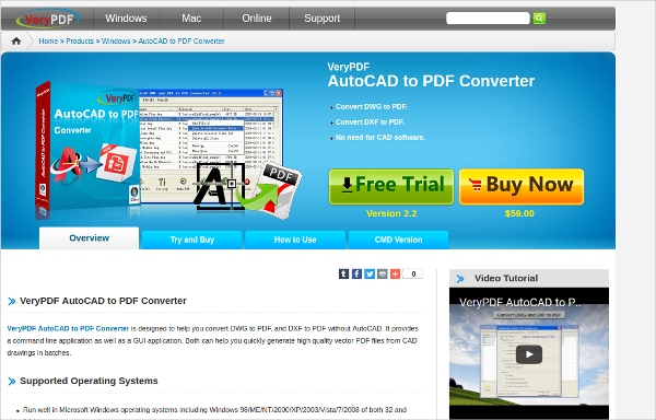 autocad to pdf converter