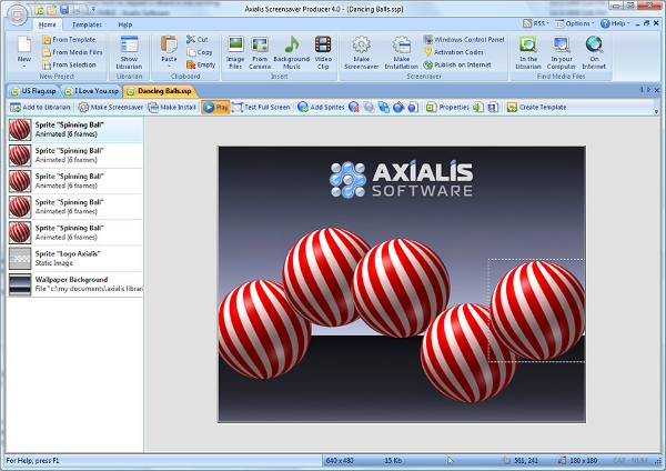 axialis screensaver