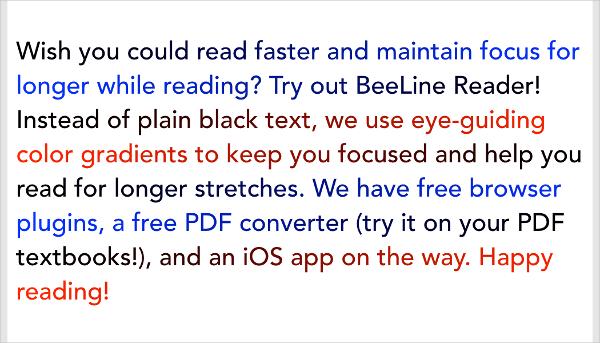 beeline reader