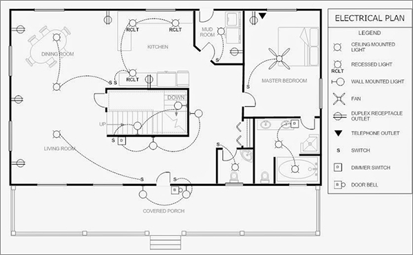 6 best electrical plan software free download for windows for How to draw house blueprints