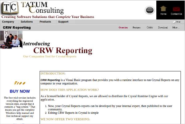 crw reporting