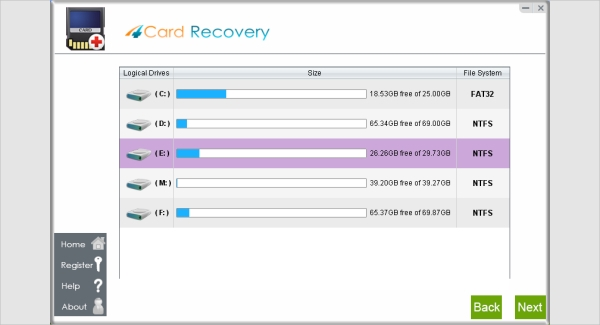 card recovery