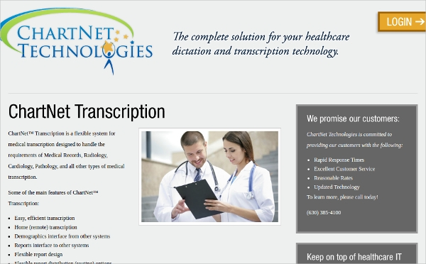 chartnet transcription