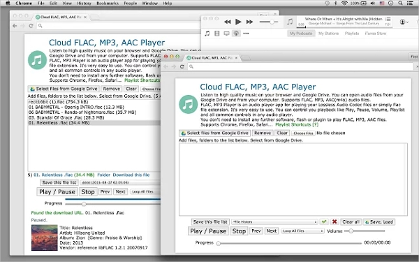 cloud flac mp3 aac player
