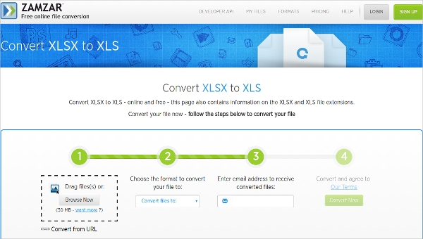 How To Convert Online Xlsx To Xls Format? - Techyv com