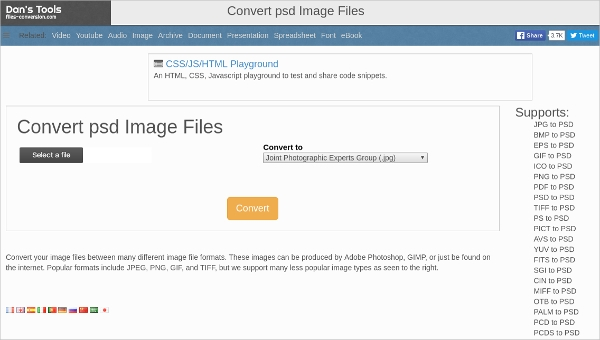 convert psd image files