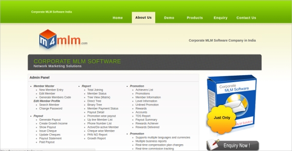 corporate mlm software
