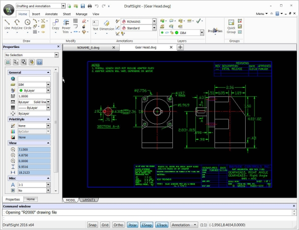 6 best 2d cad software free download for windows mac for Free online cad program