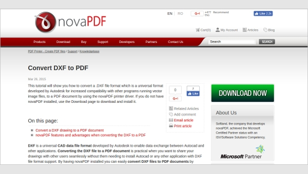 6+ Best DXF to PDF Converter Free Download For Windows, Mac